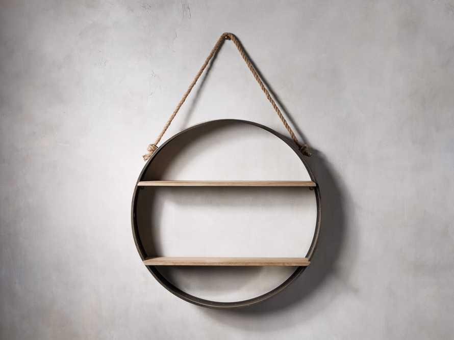 Circle Hanging Wall Shelf, slide 1 of 3