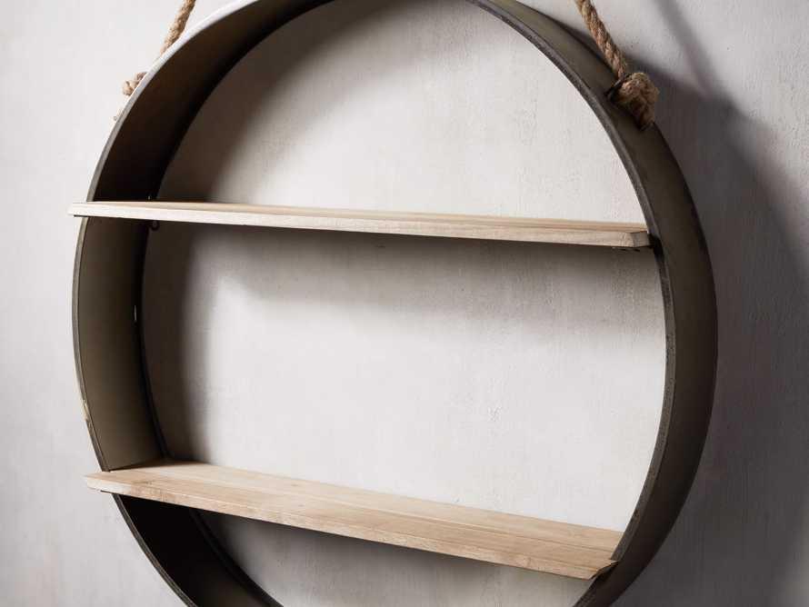 Circle Hanging Wall Shelf, slide 2 of 3