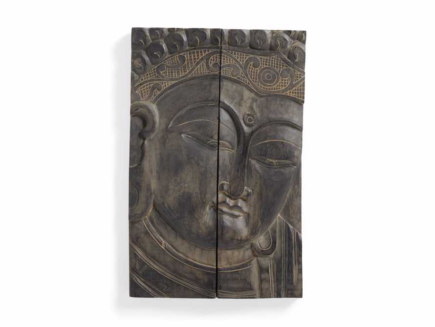 Buddha Wood Carving, slide 4 of 4