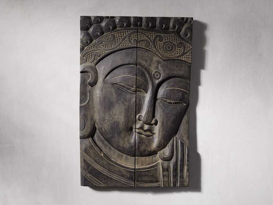 Buddha Wood Carving, slide 1 of 4
