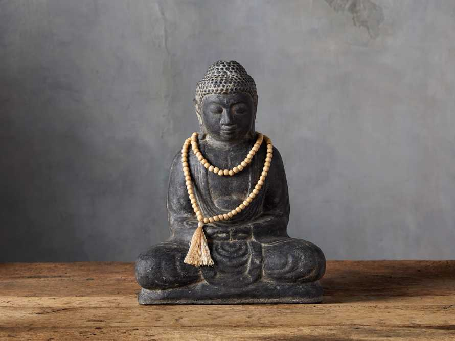 Seated Buddha with Beads, slide 1 of 3