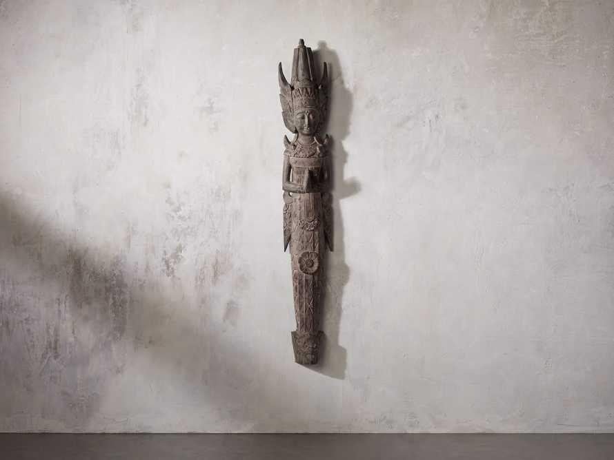 Rama Wall Sculpture, slide 1 of 3
