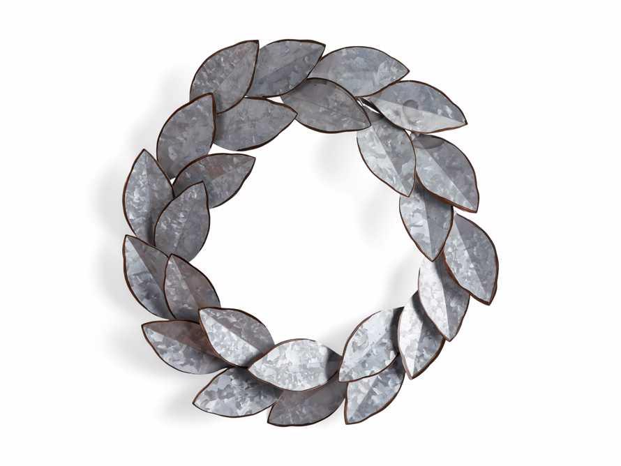 Magnolia Metal Wreath, slide 4 of 4