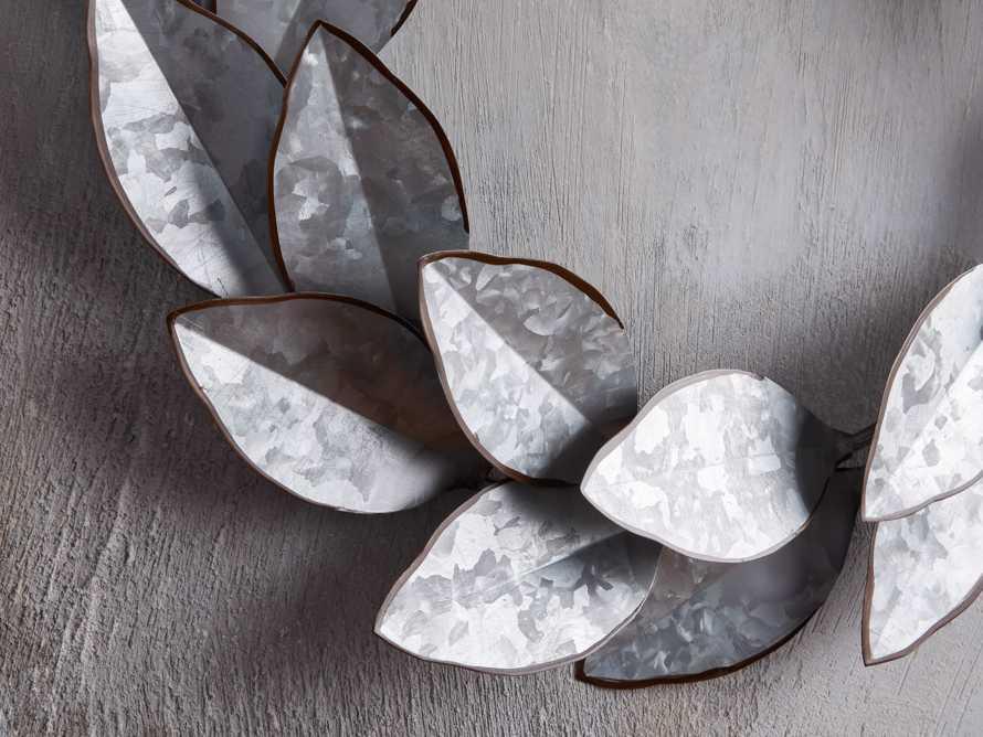 Magnolia Metal Wreath, slide 2 of 4