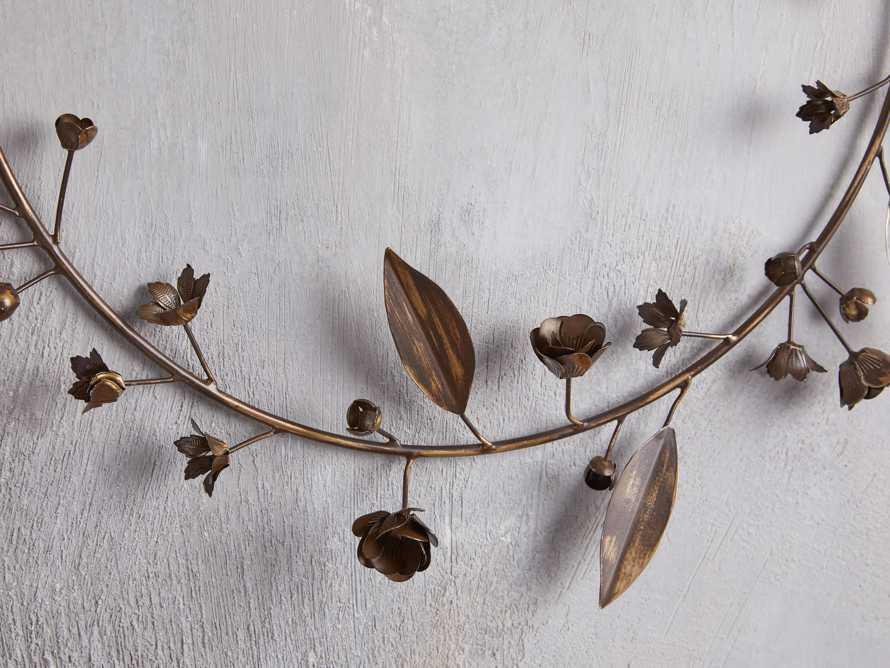 Winter's Bloom Metal Wreath, slide 2 of 4