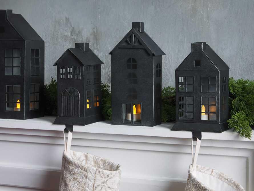 Galvanized Dutch House Stocking Holder, slide 3 of 3