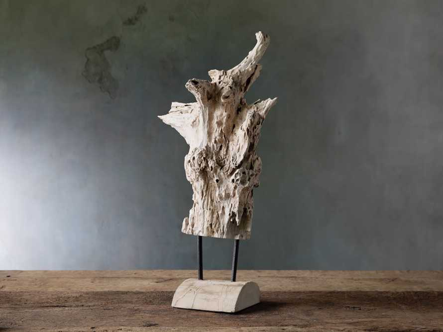 Teak Root with Stand, slide 1 of 3
