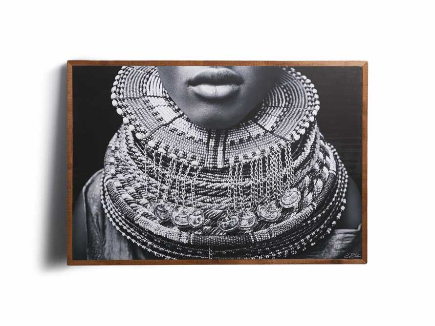 "72"" Distinguished framed print"