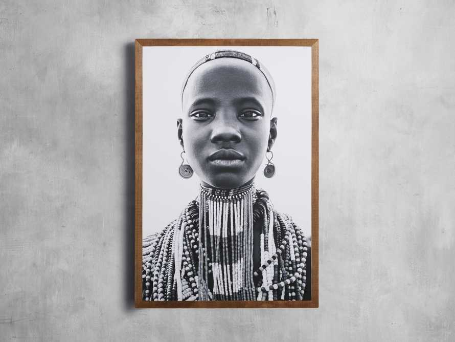 """31"""" Omo Youth Framed Print, slide 1 of 3"""
