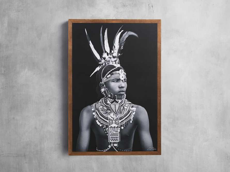 Turkana Feather Framed Print, slide 1 of 7