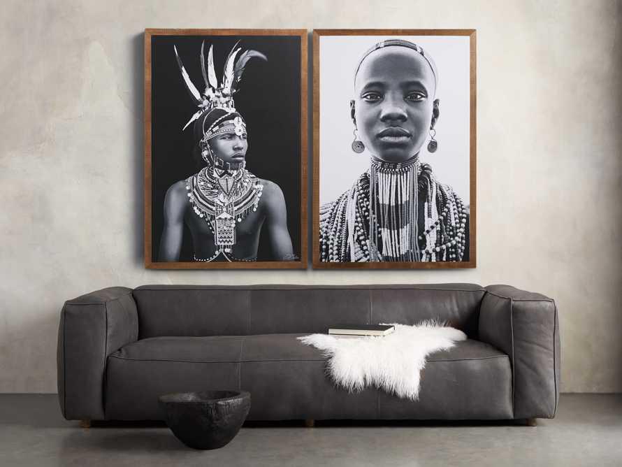 Turkana Feather Framed Print, slide 5 of 7