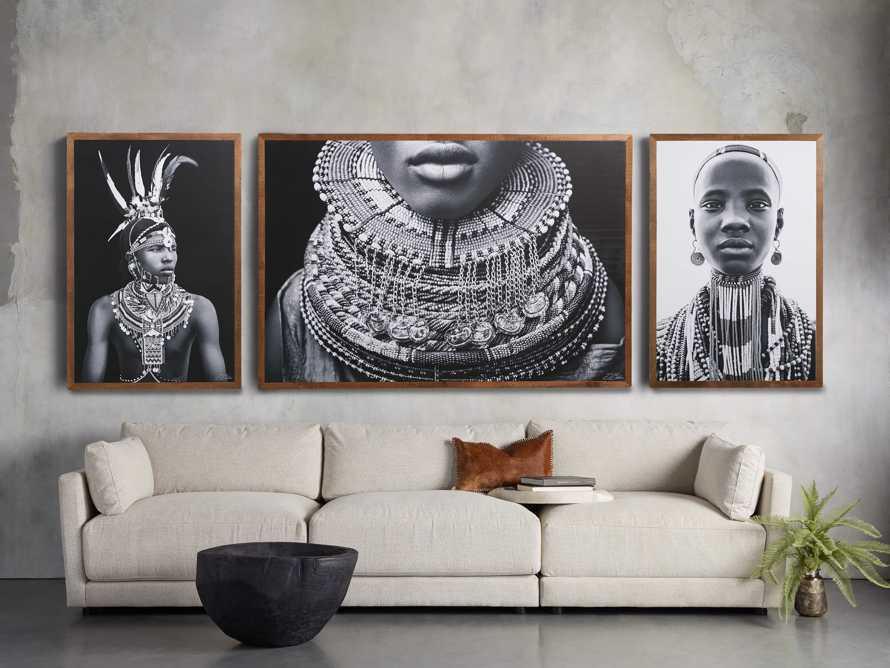 Turkana Feather Framed Print, slide 6 of 7