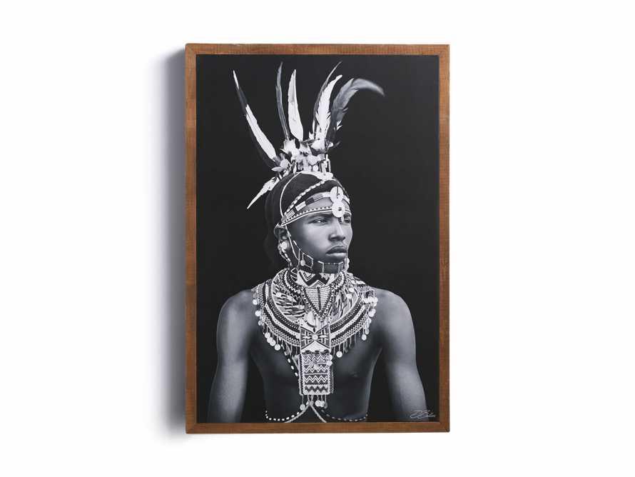 Turkana Feather Framed Print, slide 2 of 7