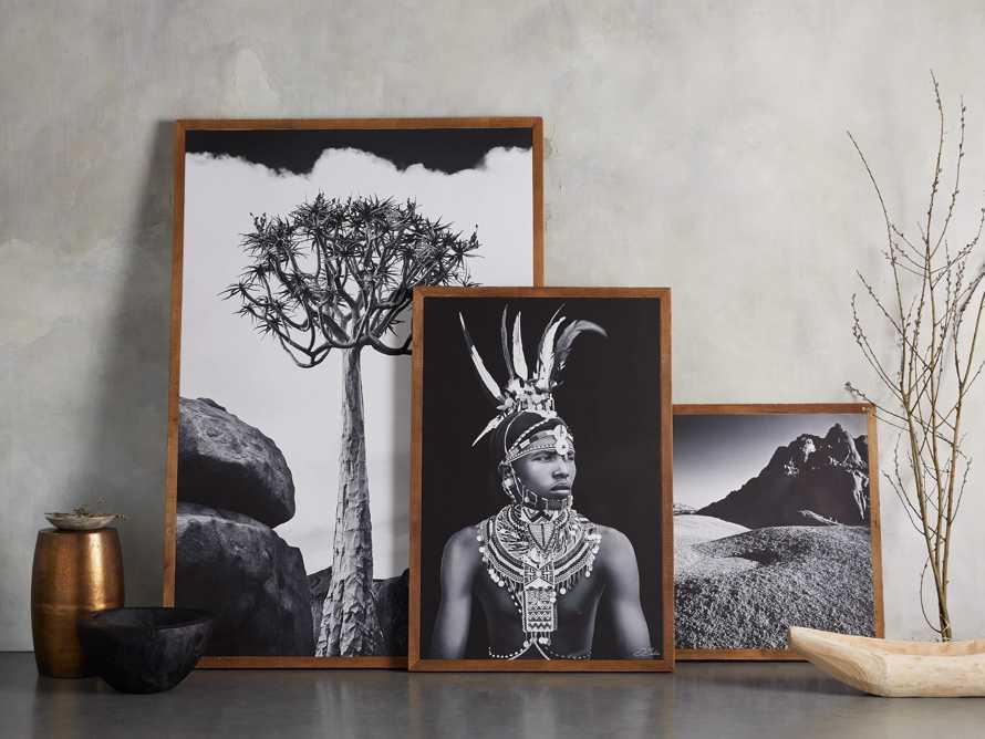 Turkana Feather Framed Print, slide 7 of 7