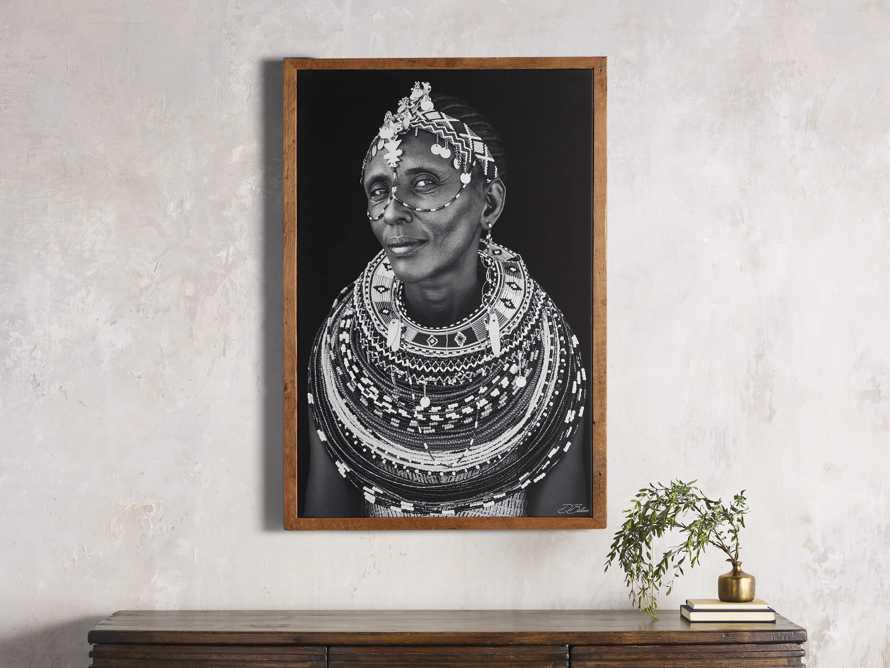Turkana Woman Framed Print, slide 1 of 4