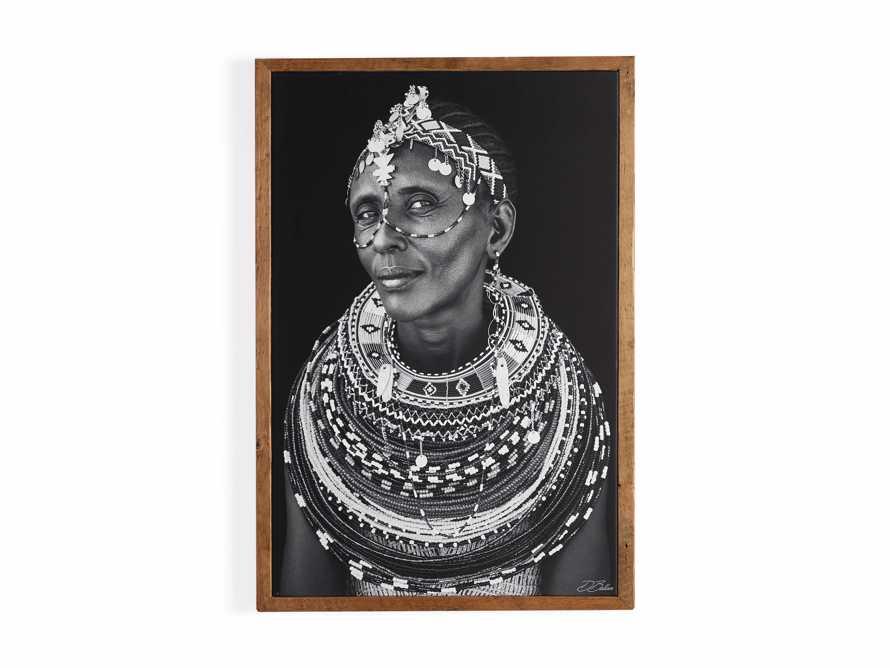 Turkana Woman Framed Print, slide 4 of 4