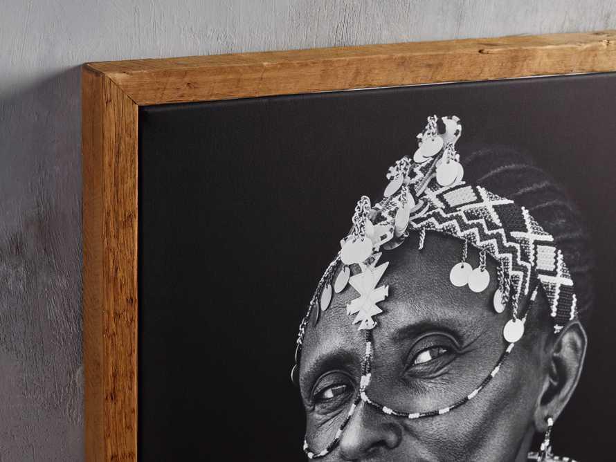 Turkana Woman Framed Print, slide 2 of 4