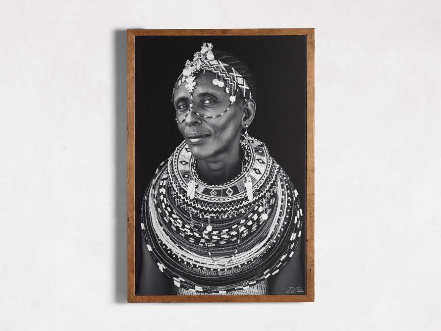 Turkana Woman Framed Print, slide 3 of 4