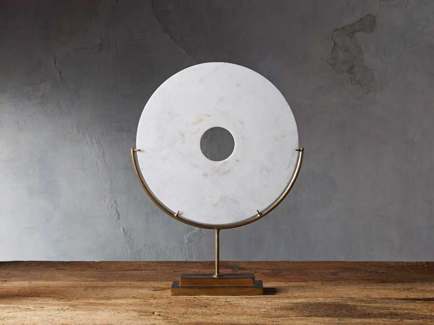 Marble Disc on Stand, slide 1 of 6