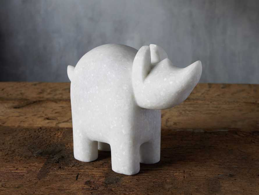 Marble Rhino, slide 1 of 3