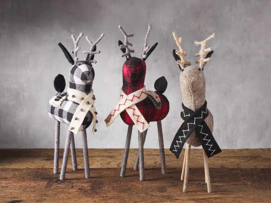 Charcoal Tabletop Reindeer, slide 2 of 2