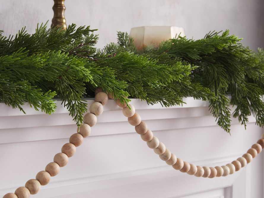 Wooden Tasseled Garland, slide 2 of 2