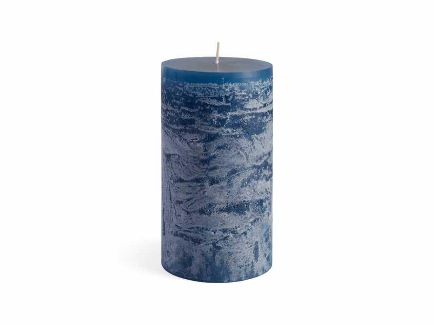 "Rustic 6"" Pillar in English Blue, slide 4 of 4"