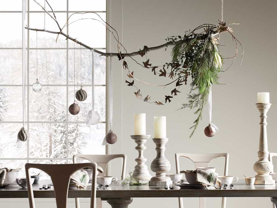 Mixed Metal Iced Ornament (Set of 6), slide 4 of 4