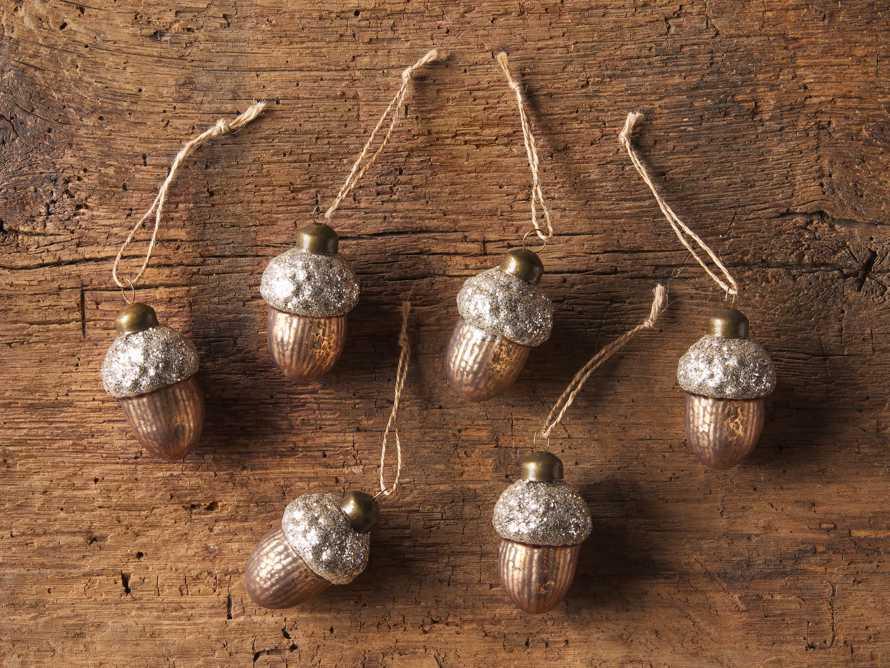 Acorn Ornament (Set of 6), slide 2 of 2