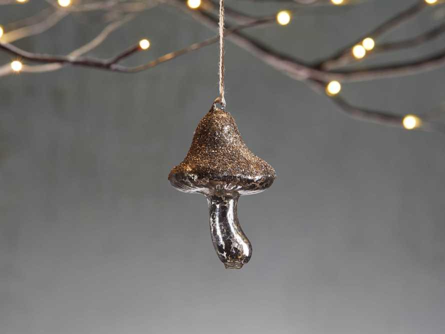 Glass Mushroom Ornament (Set of 6), slide 1 of 2