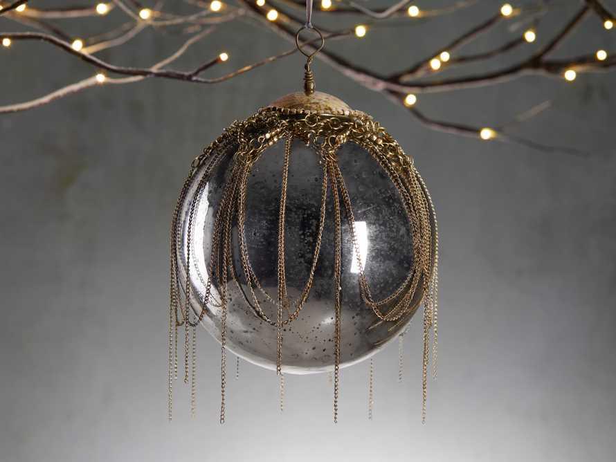 Mixed Metal Chandelier Ornament (Set of 6), slide 1 of 2
