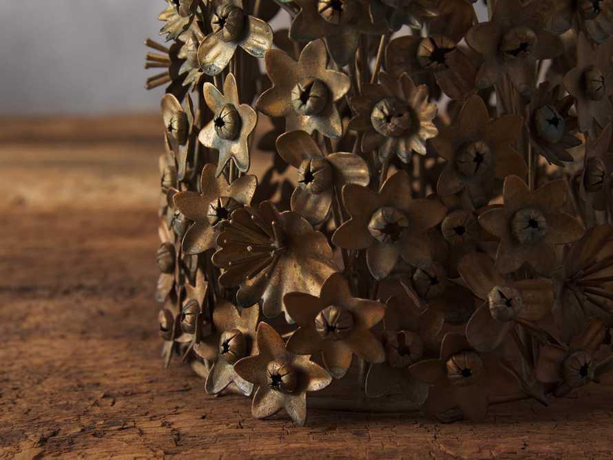 Metal Floral Tree, slide 2 of 2