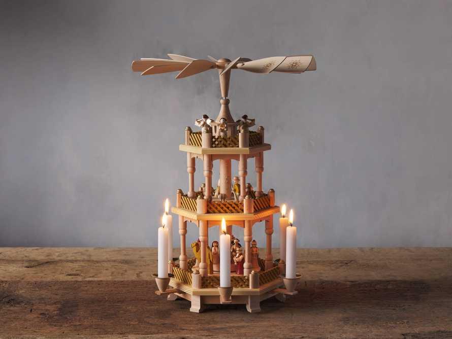Three Tier Nativity Pyramid, slide 1 of 5