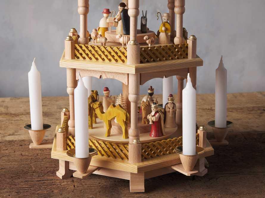 Four Tier Nativity Pyramid, slide 4 of 5