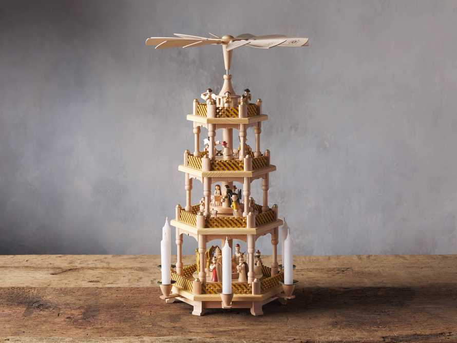 Four Tier Nativity Pyramid, slide 2 of 5