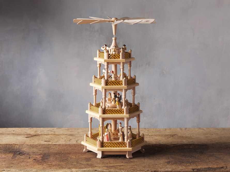Four Tier Nativity Pyramid, slide 3 of 5