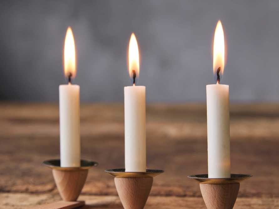 Small Pyramid Candles, slide 1 of 2