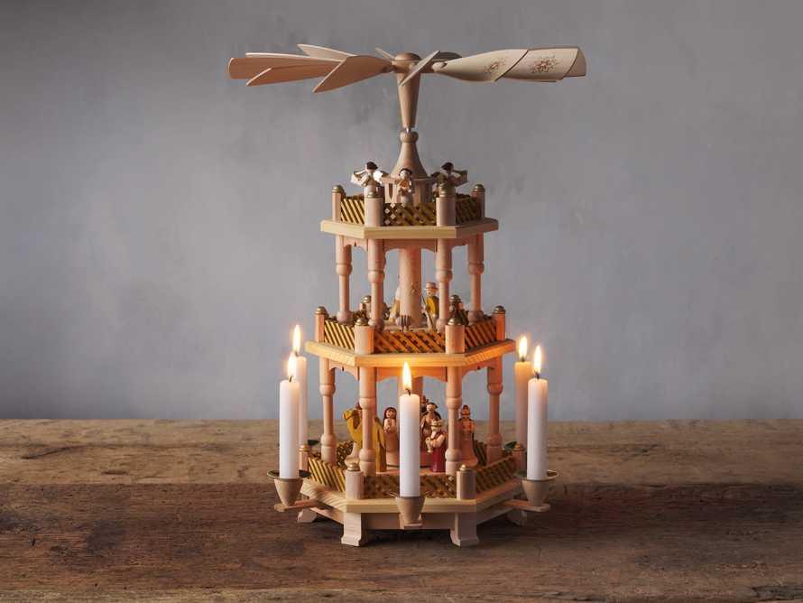 Medium Pyramid Candles, slide 3 of 3