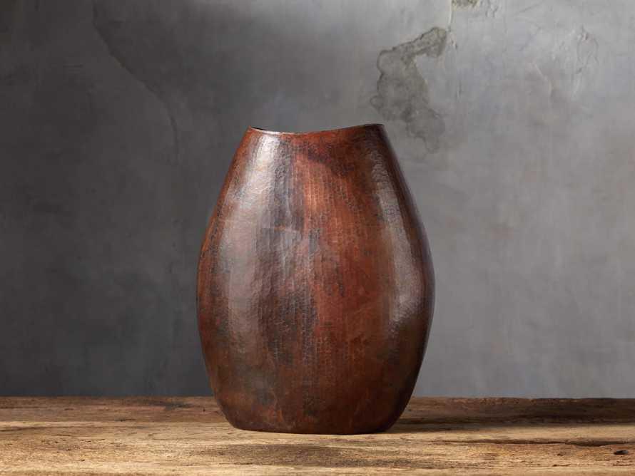 Copper Oval Vase, slide 1 of 4