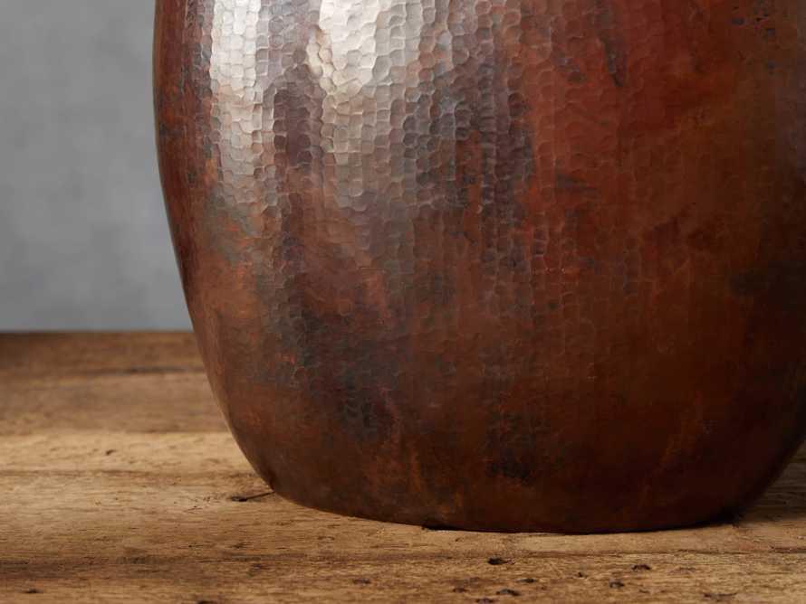 Copper Oval Vase, slide 2 of 4