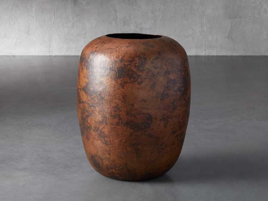 Extra Large Natural Copper in Vase, slide 1 of 3