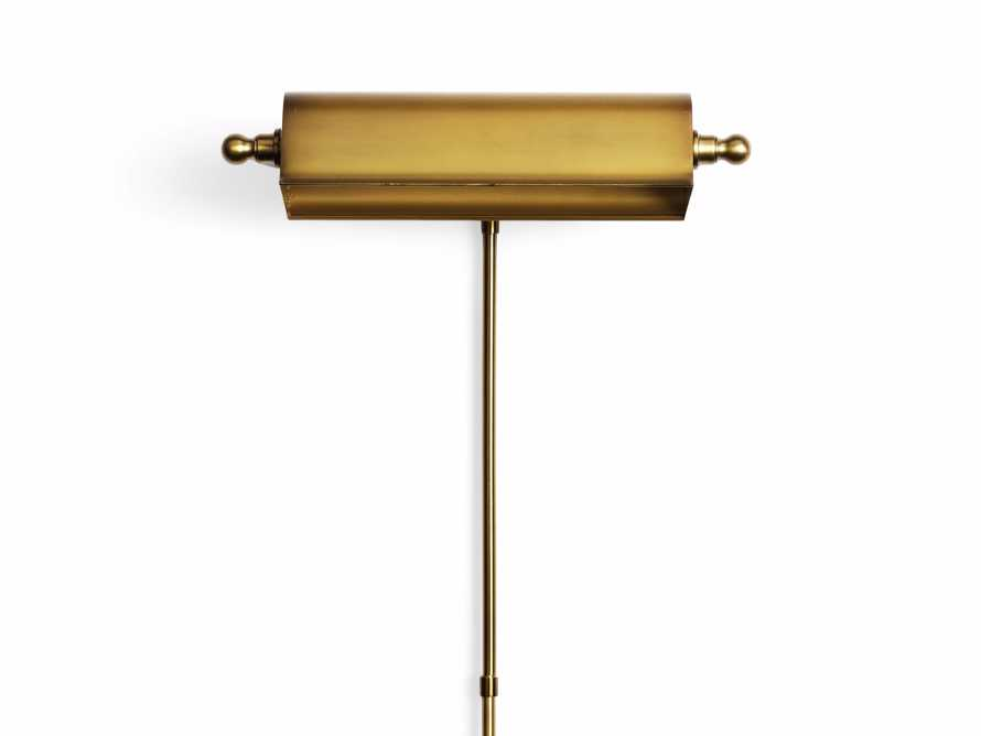 Tremont Brass Library Sconce, slide 8 of 8