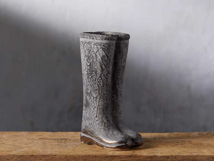 Small Welly Grey Vase, slide 1 of 5