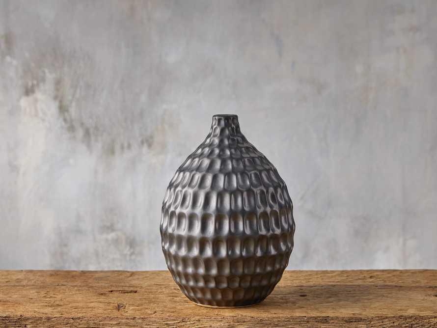 Eva Bud Vase in Black, slide 1 of 4