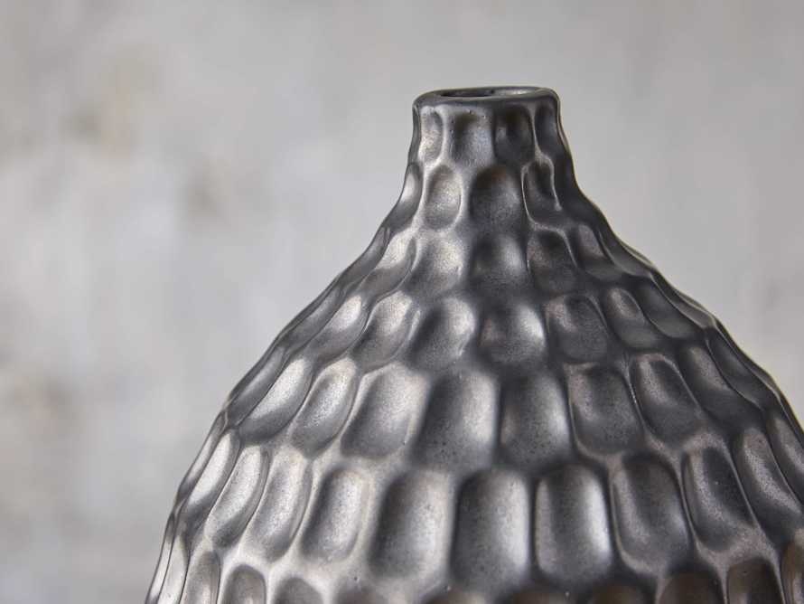 Eva Bud Vase in Black, slide 2 of 4