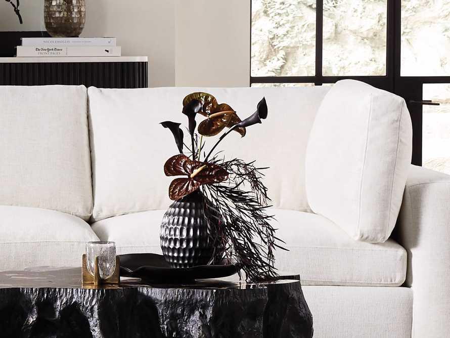 Eva Bud Vase in Black, slide 4 of 4