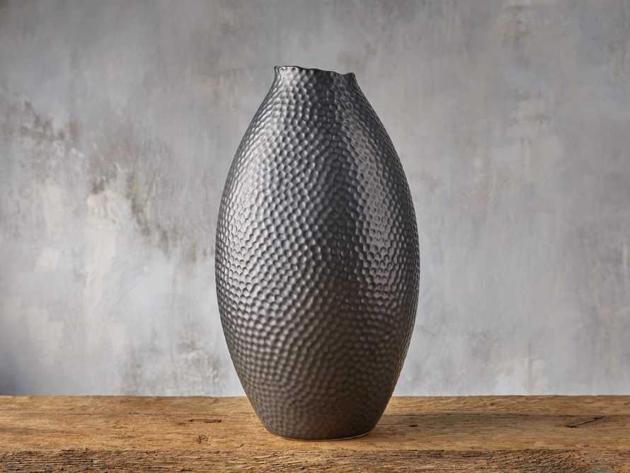 Eva Tall Vase in Black, slide 1 of 3