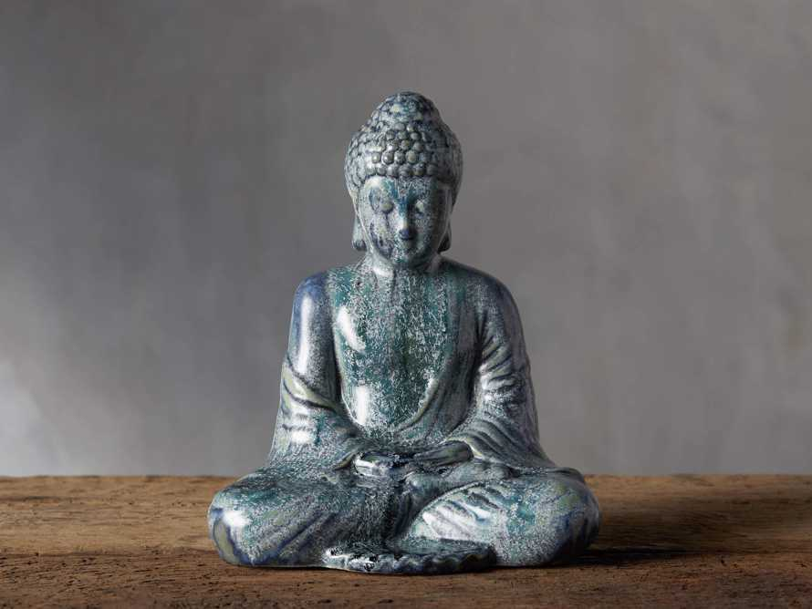 Seated Blue Buddha, slide 1 of 4