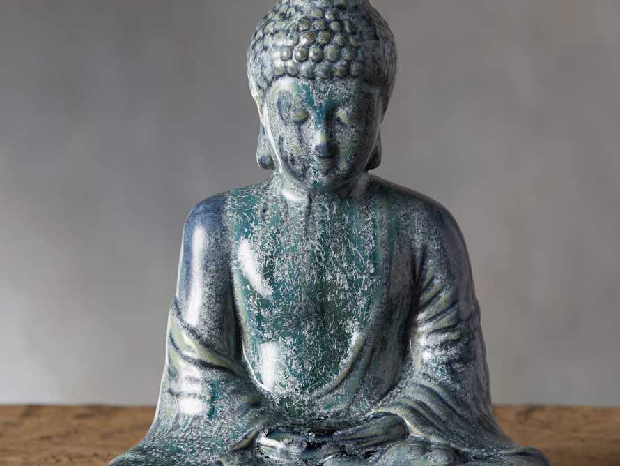 Seated Blue Buddha, slide 2 of 4