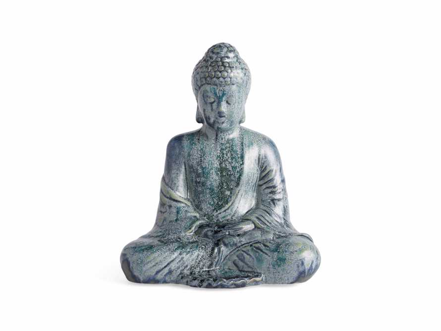 Seated Blue Buddha, slide 3 of 4